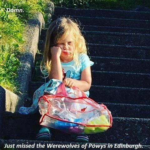 Werewolves of Powys